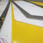 New boat windows made using new stainless steel frames